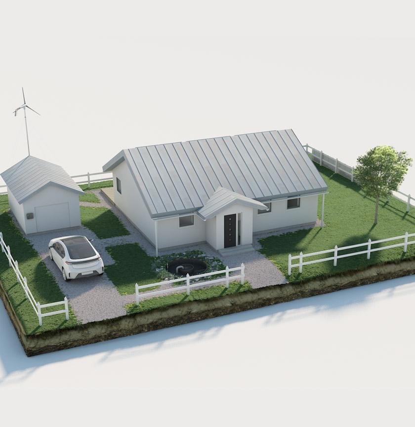 Ett vanligt hus